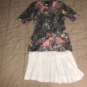 Vintage 2piece mother of the bride dress Dawn Joy